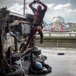 """Mira las primeras seis fotos de """"Deadpool"""" (2016)"""