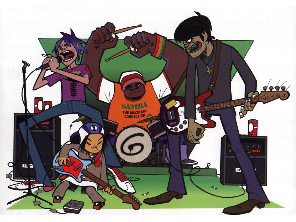 Y Gorillaz La multicultura...