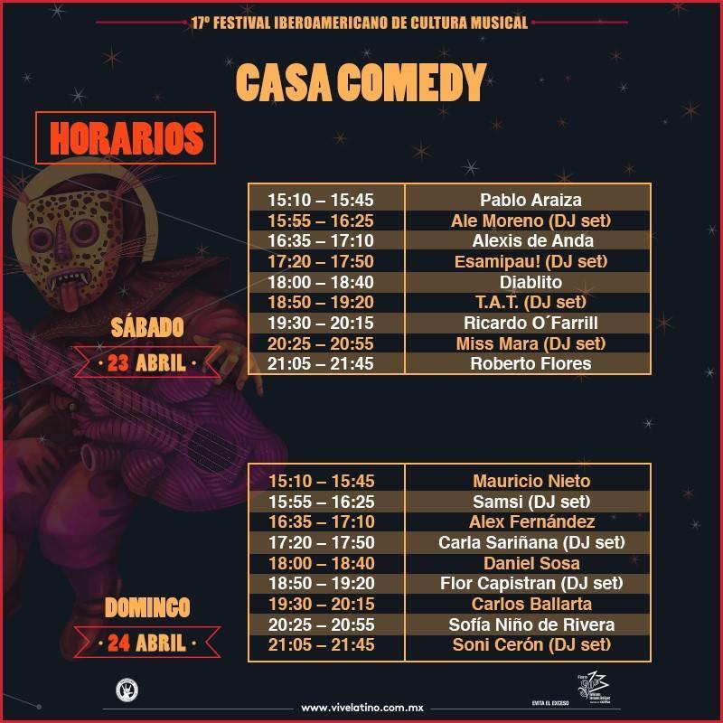 Casa Comedy Poolp Mx