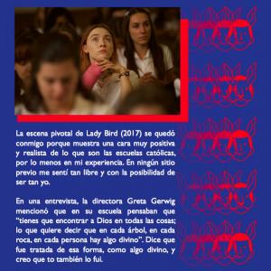Lady Bird me recordó el amor que tengo por las escuelas católicas #PuertAbierta